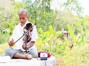 Violin class by Shri Devbaba - Guruji