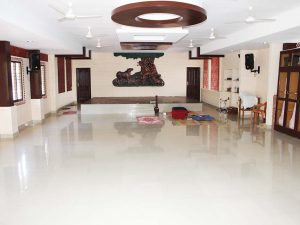 Music Hall in Ashram